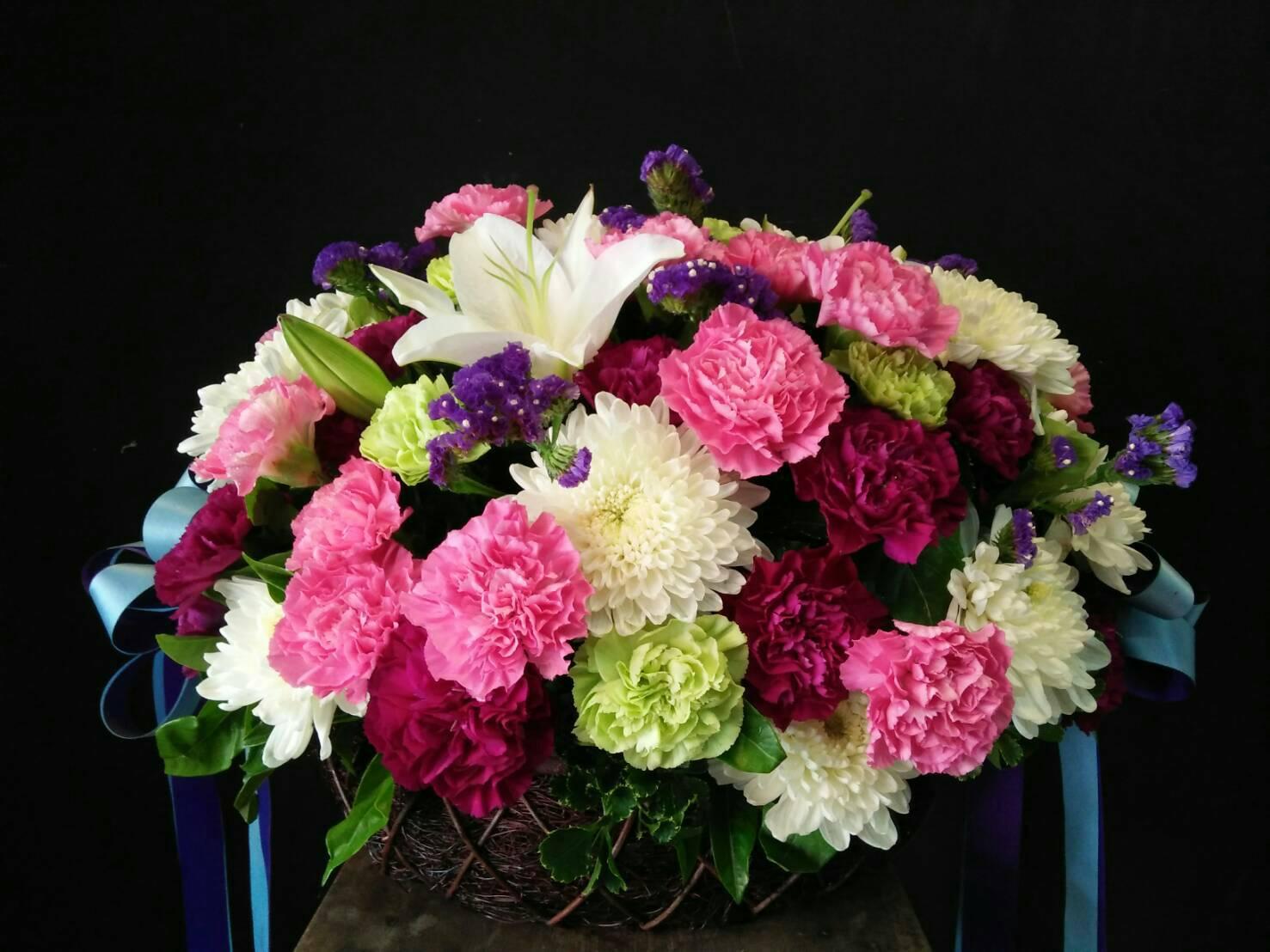 กระเช้าดอกไม้13