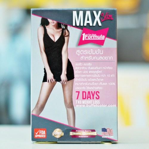 Max slim 7 days 7 kg
