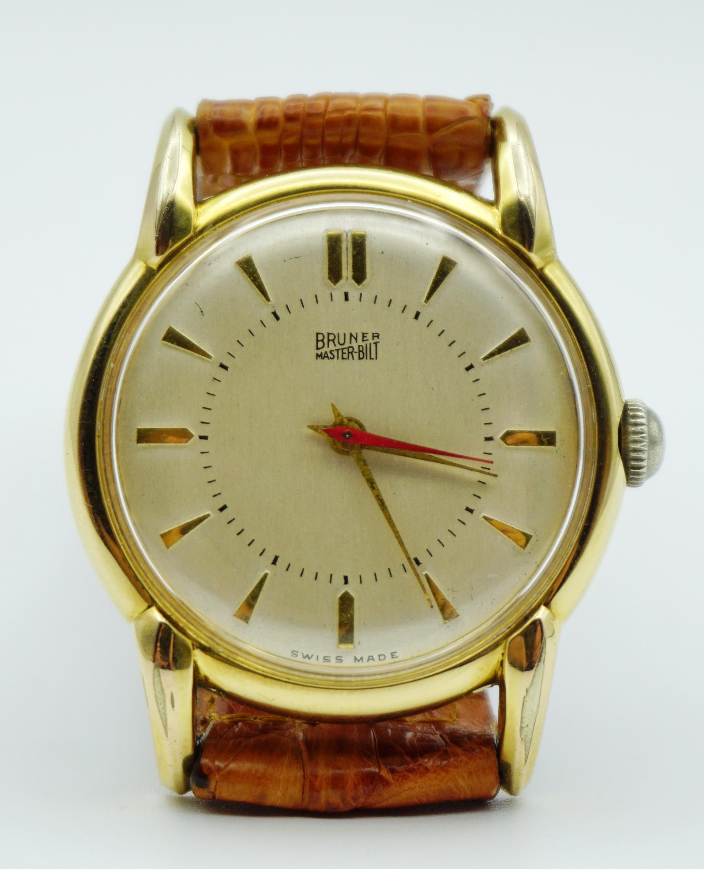 นาฬิกาเก่า BRUNER ออโตเมติก