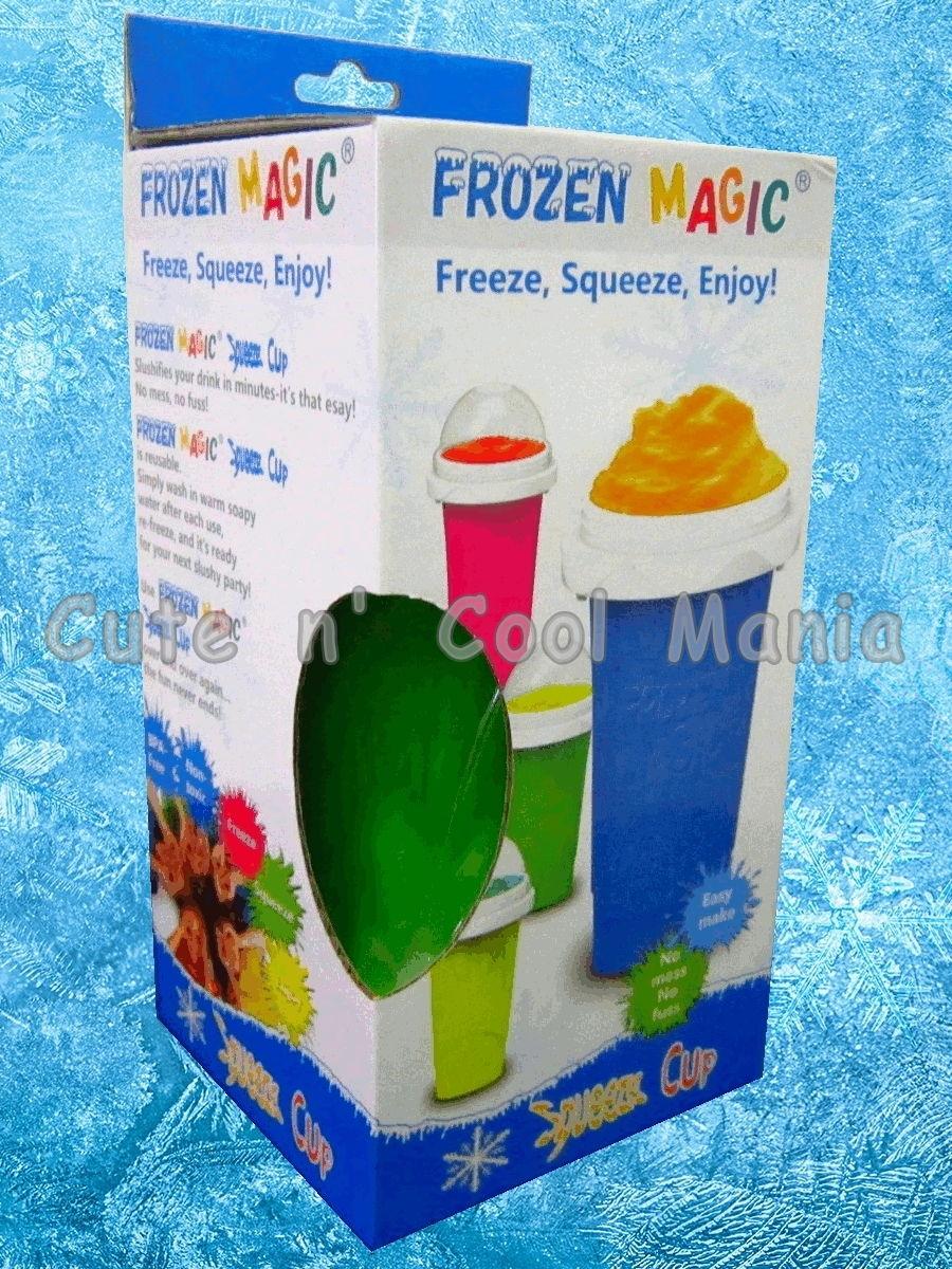 แก้วเกล็ดหิมะ แก้วทำสเลอปี้ สีเขียว