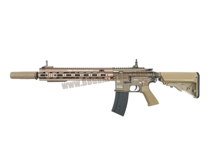 E&C 106S : HK 416 D Geissele 14.5 Dark Earth บอดี้เหล็ก JR.Custom Gen 3