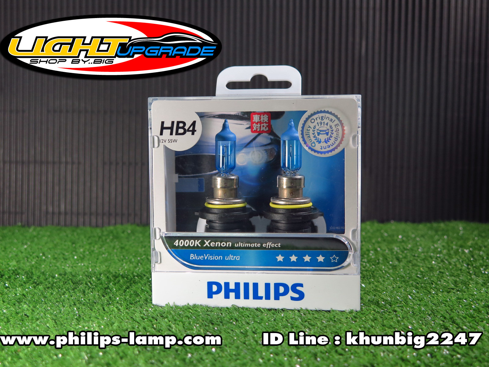 Philips Blue Vision Ultra 4000K (HB4)