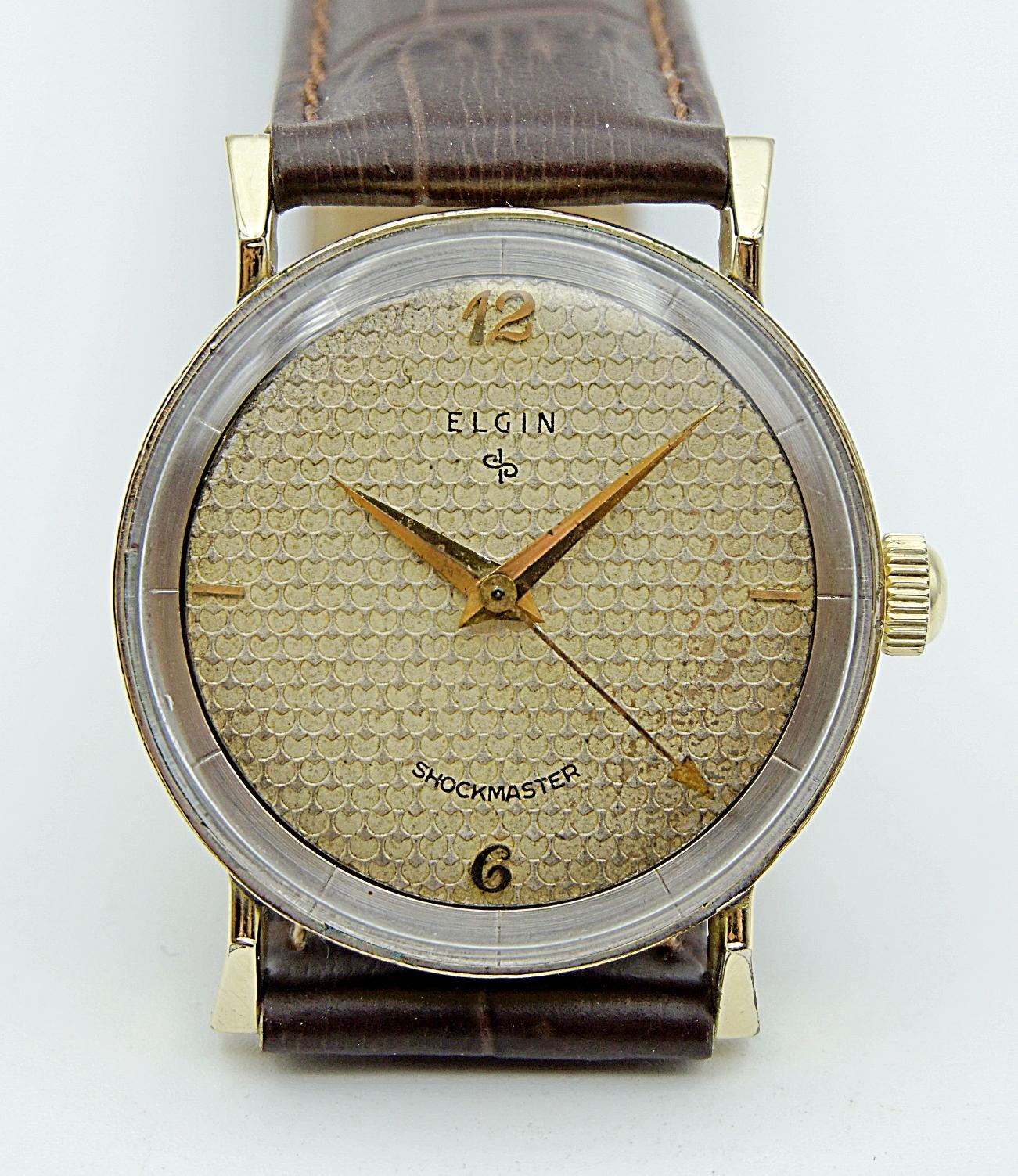 นาฬิกาเก่า ELGIN ไขลาน