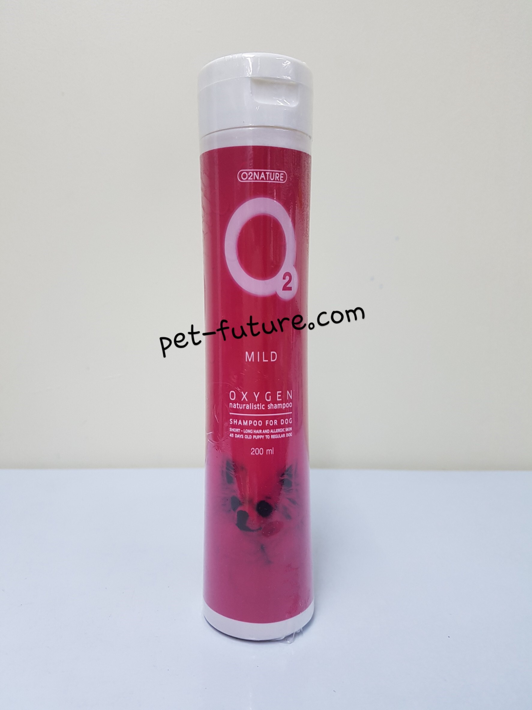 Oxygen O2 แชมพูสูตร ขนาด 200 มล. Mild Exp.06/20
