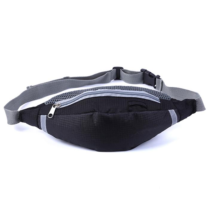 พร้อมส่ง!!! fashion กระเป๋าคาดเอว รุ่น YX-1507 (สีดำ)