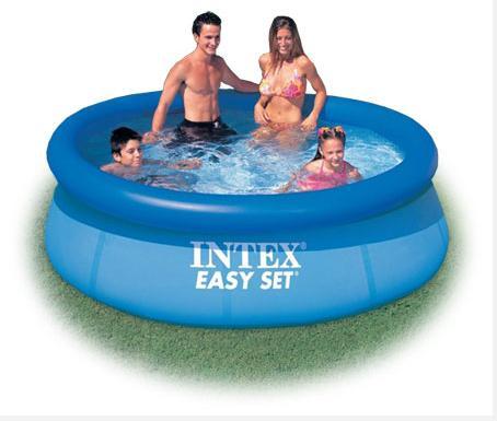 Intex Easy set pool 8 ฟุต แถมสูบเทอโบ ส่งฟรี kerry