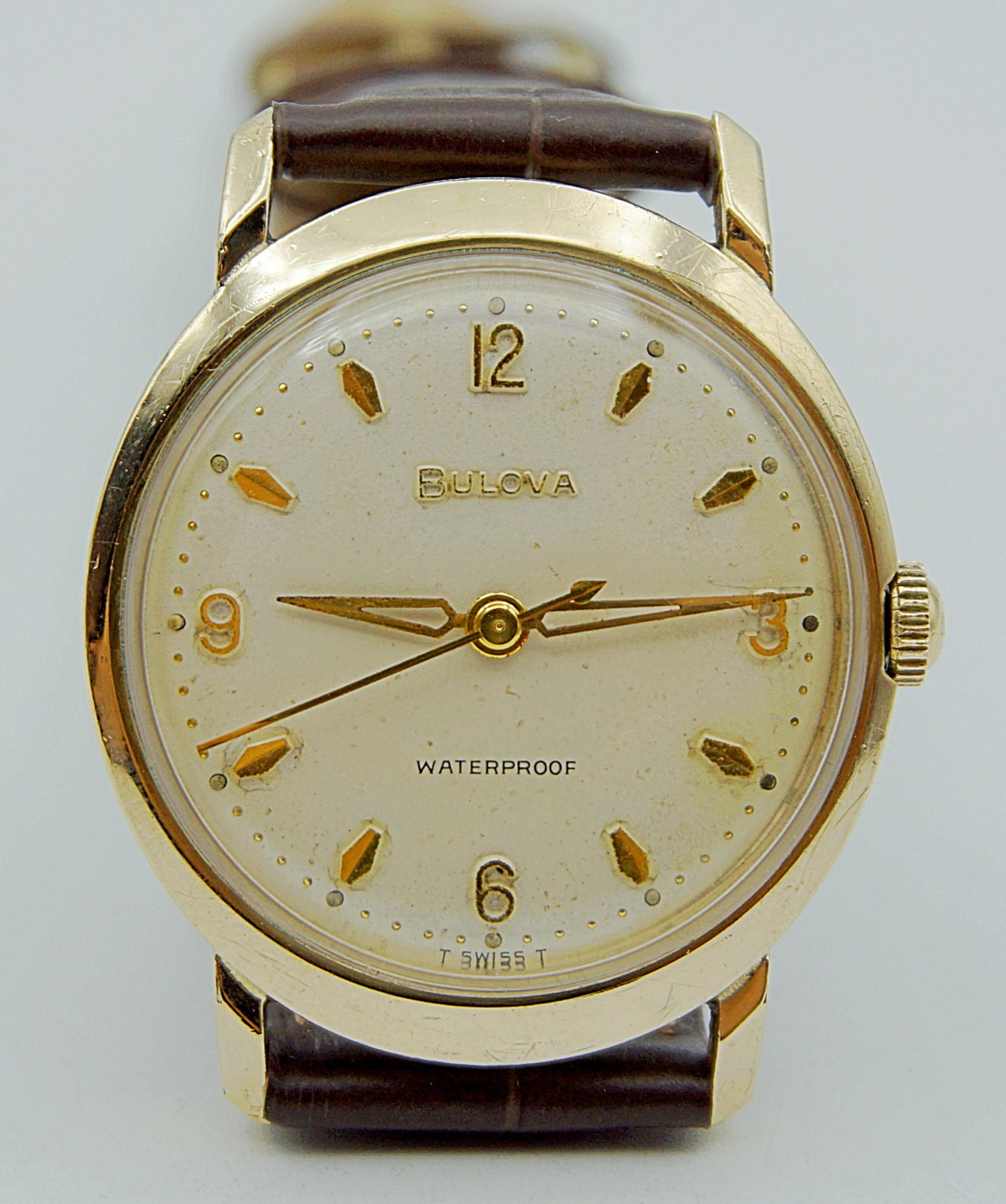 นาฬิกาเก่า BULOVA ไขลาน