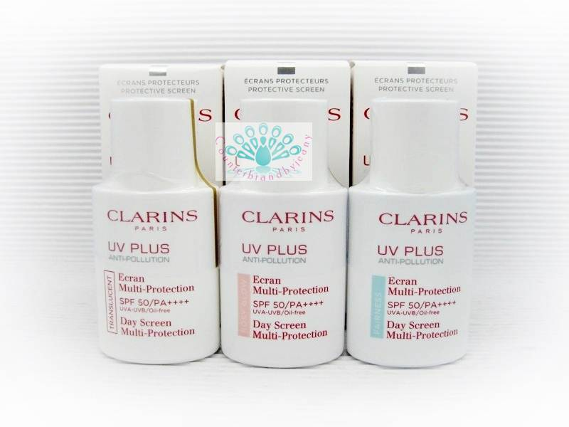 CLARINS UV Plus Anti-Pollution Day Screen Multi-Protection SPF 50/PA++++