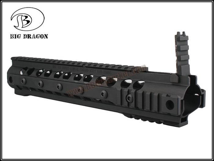 ประกับหน้าราง 12.5 นิ้ว KAC URX III สีดำ