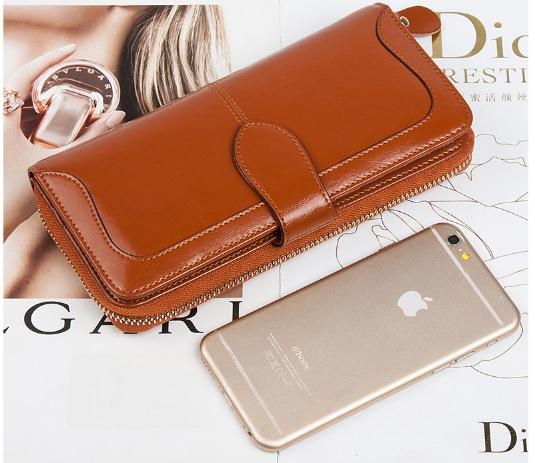 fashion กระเป๋าสตางค์หนัง (รอสินค้า15-20วัน)