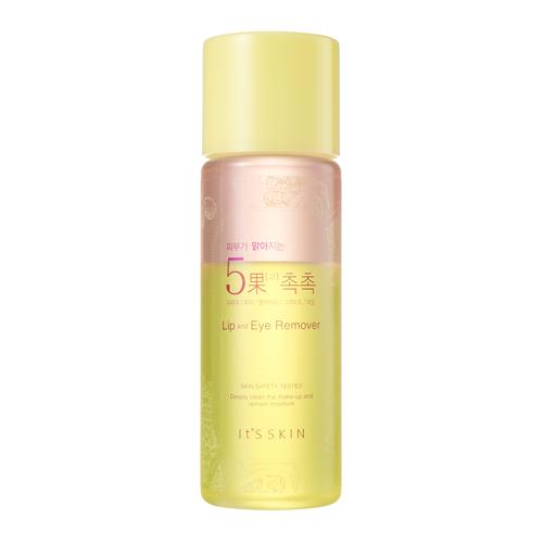 It's Skin Skin Brightening 5 Fruits Lip & Eye Remover 145 ml.