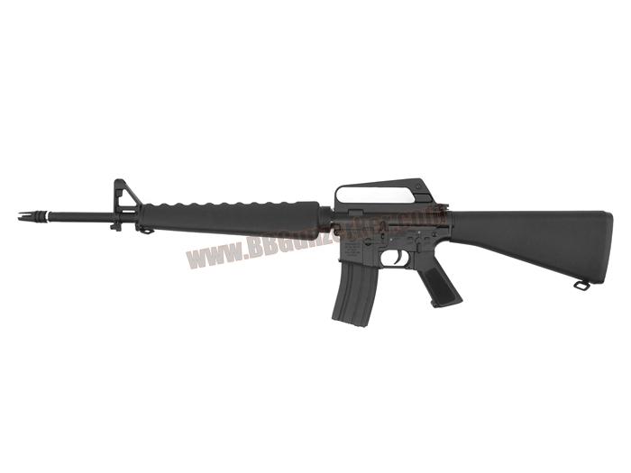 E&C 320S : M16A1 Vietnam บอดี้เหล็ก JR.Custom Gen 2