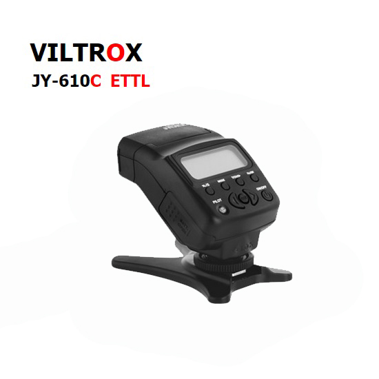 มินิแฟลช SPEEDLIGHT ViltroxJY-610C ETTLกล้องแคนนอน