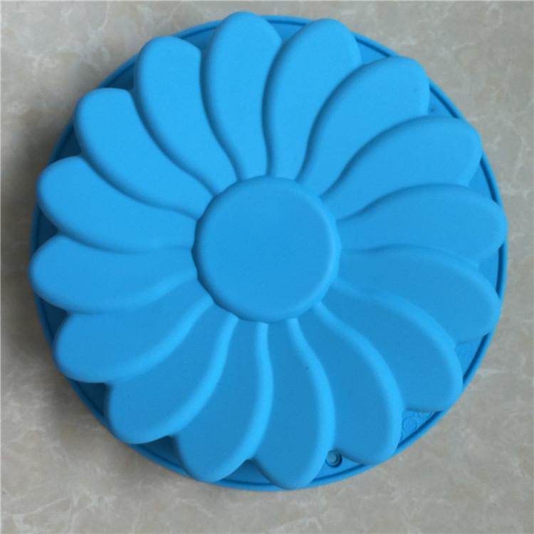 พิมพ์ซิลิโคน รูปดอกไม้ 23*3.5cm.