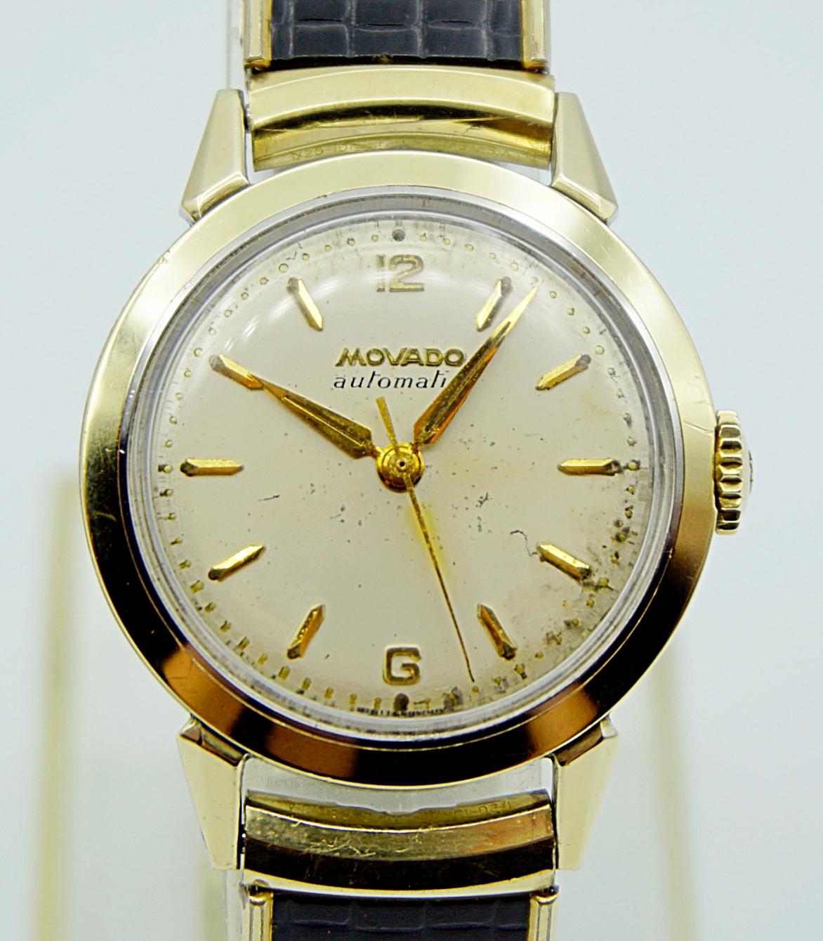 นาฬิกาเก่า MOVADO ออโตเมติก