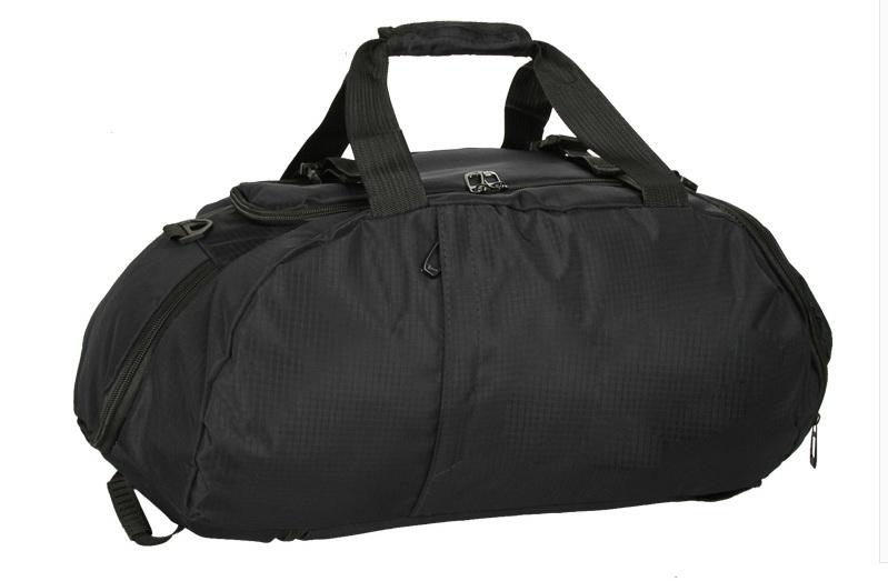 พร้อมส่ง!!! กระเป๋าเดินทาง (สกรีนโลโก้เพิ่มได้) สีดำ