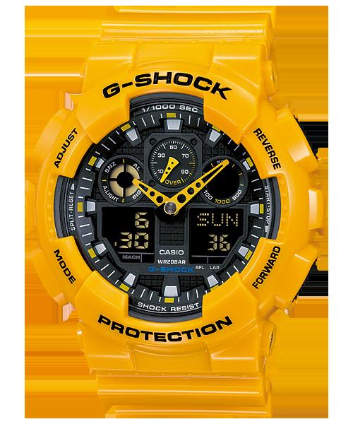 GShock G-Shockของแท้ ประกันศูนย์ GA-100A-9ADR