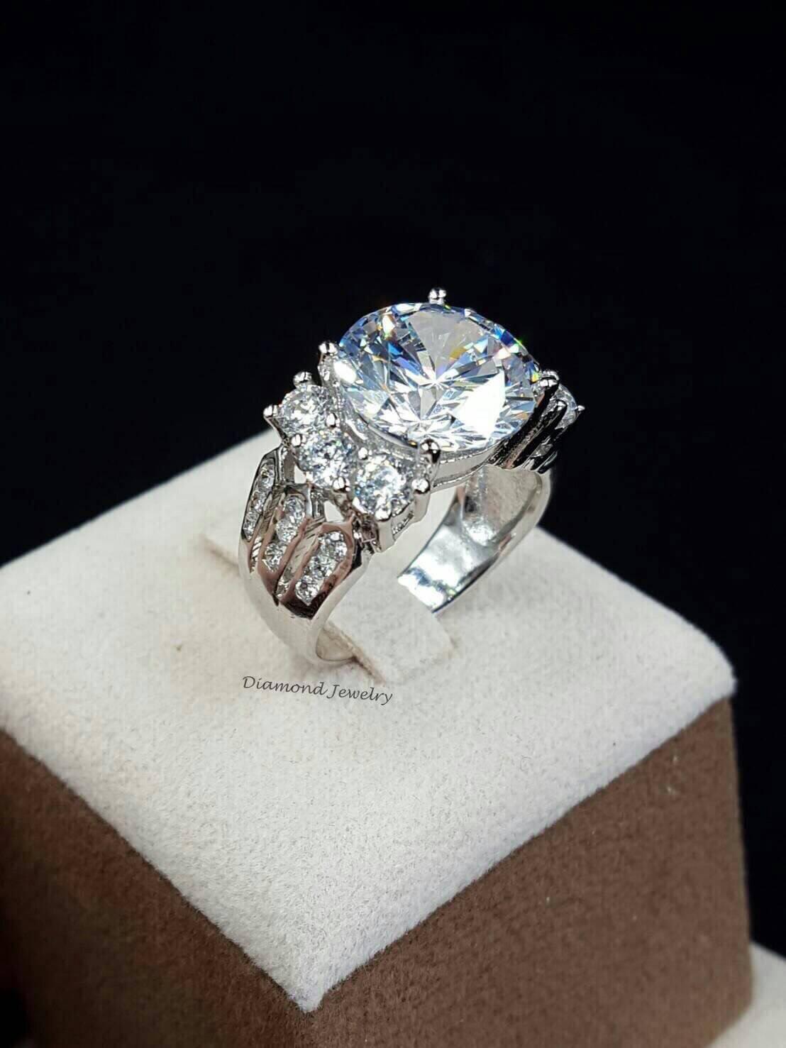 พร้อมส่ง แหวนเพชร Madawaska ((เพชรมาดากัสการ์))