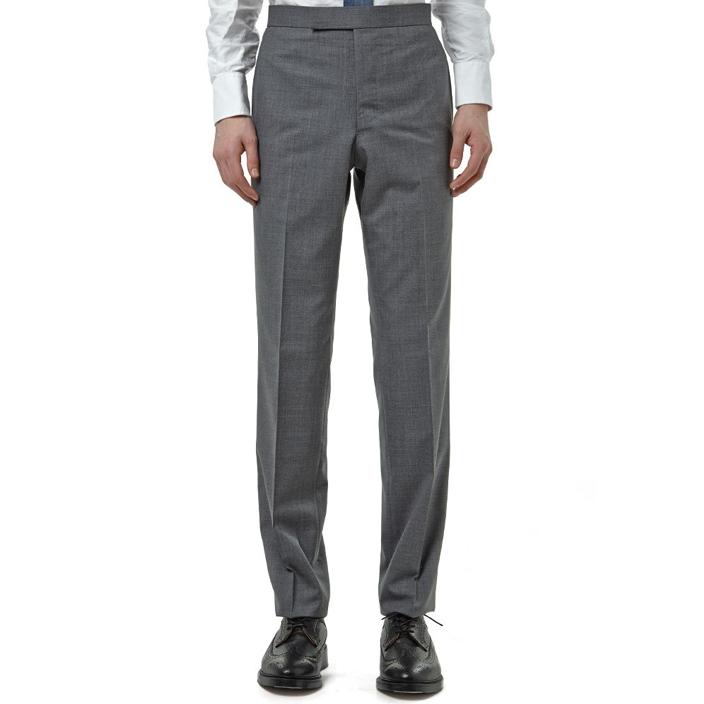 กางเกงThom Browne Grey Wool Backstap Trouser มีสินค้า SIZE M เบอร์ 2