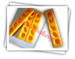 พิมพ์ขนมสัมปันนี/ทองเอก (ราคาต่อ 1 ชิ้น คละลายให้จ้า)