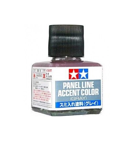 Tamiya Panel Line Accent Color GRAY 40ml