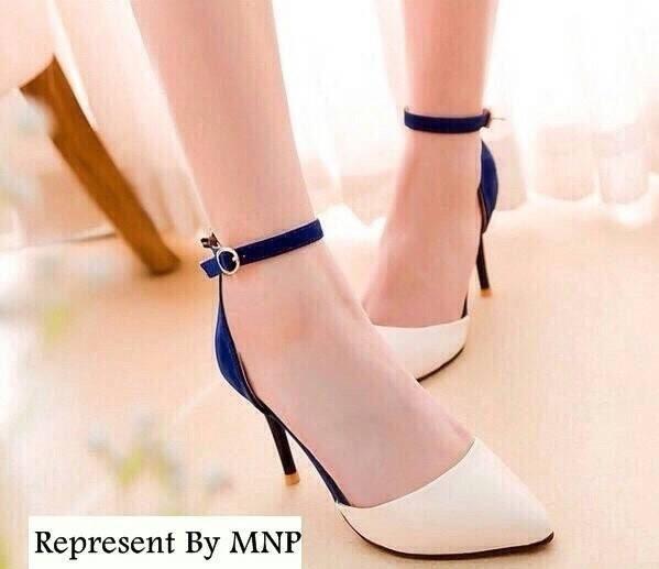 Style ZARA High-Heels Flannel แบบขายดี @ รองเท้าส้นสูงสไตล์ ZARA