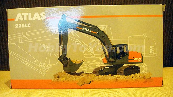 โมเดลรถก่อสร้าง ATLAS 225LC EXCAVATOR 1:50 BY NZG