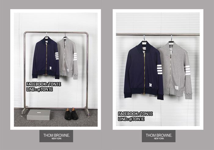 เสื้อแจ็ตเก็ตThom Browne Zip-up Sweatshirt