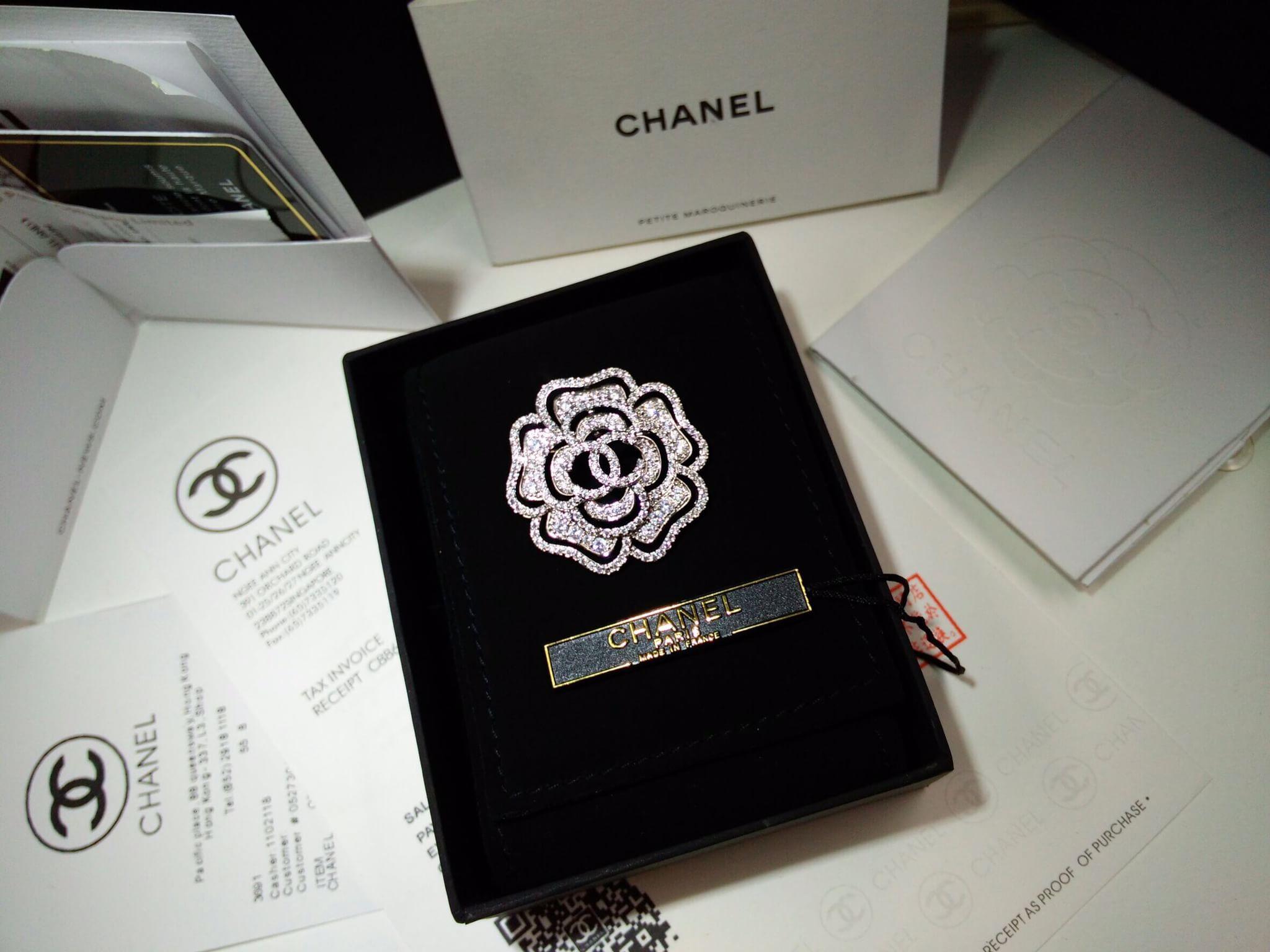 พร้อมส่ง Brooch Chanel เข็มกลัด ลายคาเมเลีย