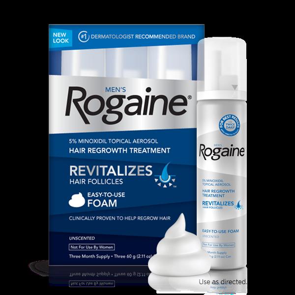 Regaine & Rogaine Foam Minoxidil 5% Man's โรแกน รีเกน ยาปลูกผม ชนิดโฟม สำหรับผู้ชาย
