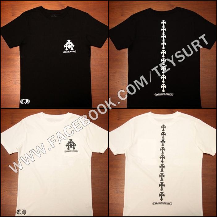 เสื้อ Chrome Hearts Cross T-shirt1:1