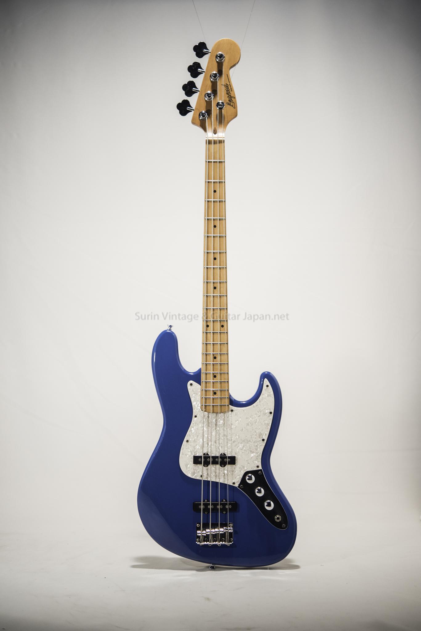กีต้าร์เบสไฟฟ้ามือสอง Legend JB-Blue No.3