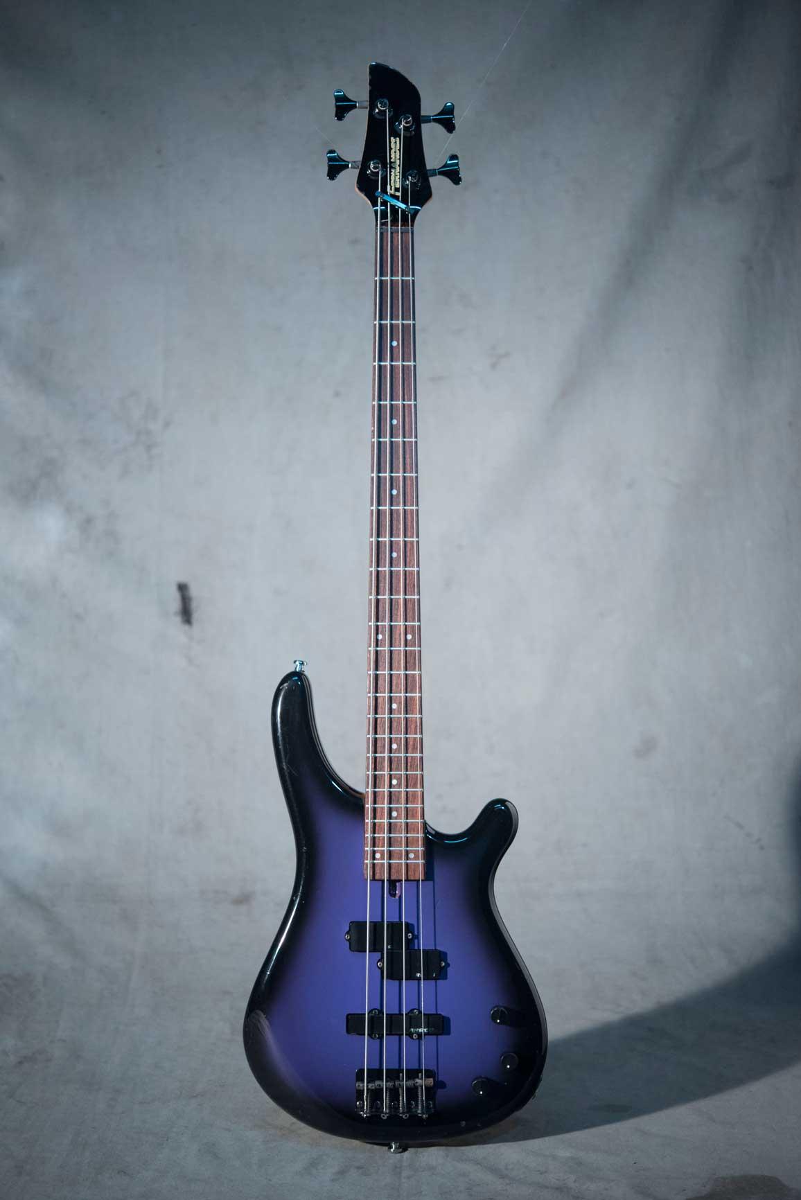 กีต้าร์ Bass ไฟฟ้ามือสอง FERNANDES FRB-40 Purple Burst