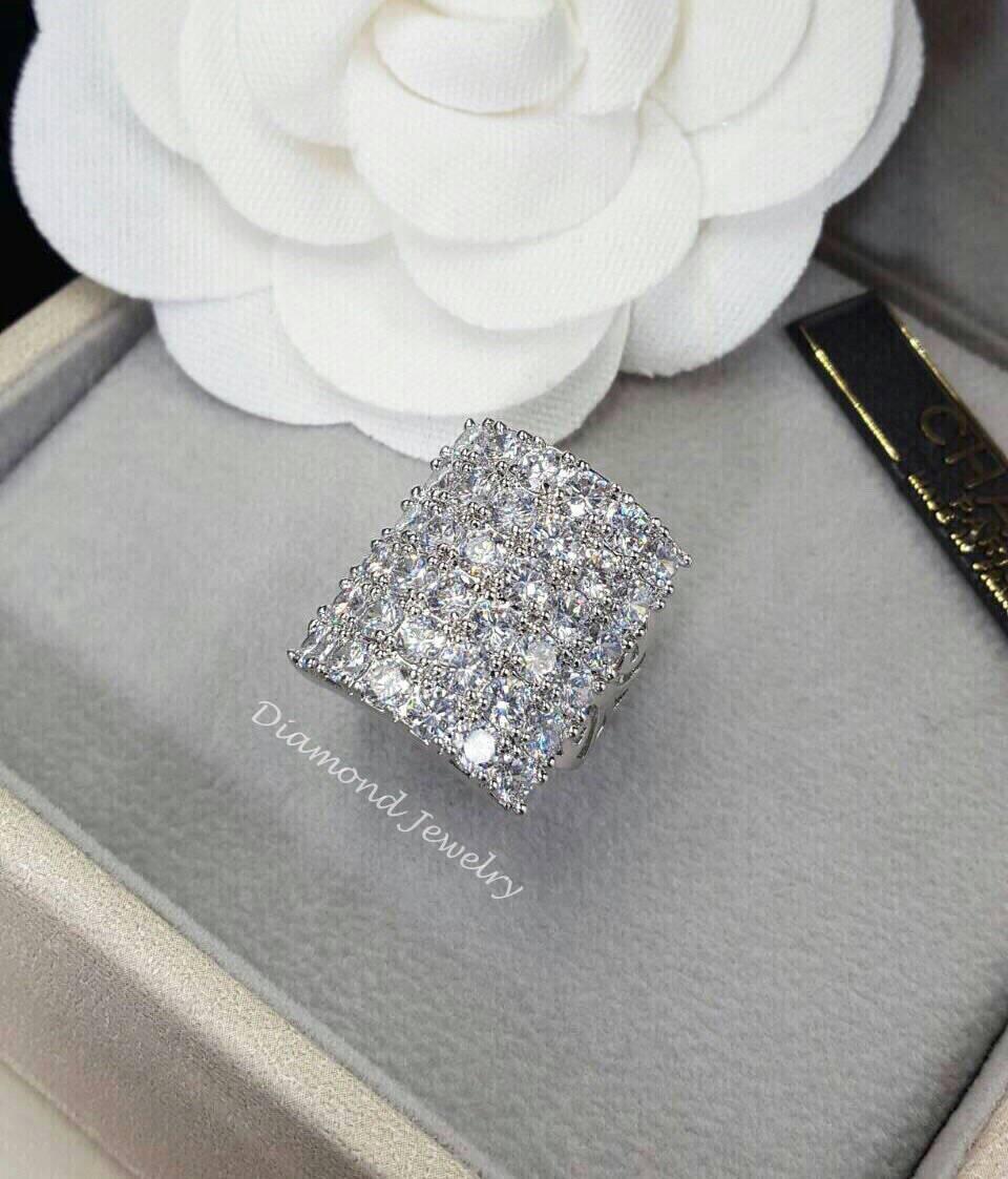 พร้อมส่ง Diamond Ring งานเพชร CZ แท้ เพชรเกรด 3A
