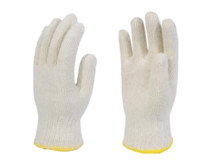 ถุงมือผ้า GoBern (ขอบขาว/ขอบแดง)