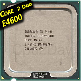 [775] Core 2 Duo E4600 (2M Cache, 2.40 GHz, 800 MHz FSB)