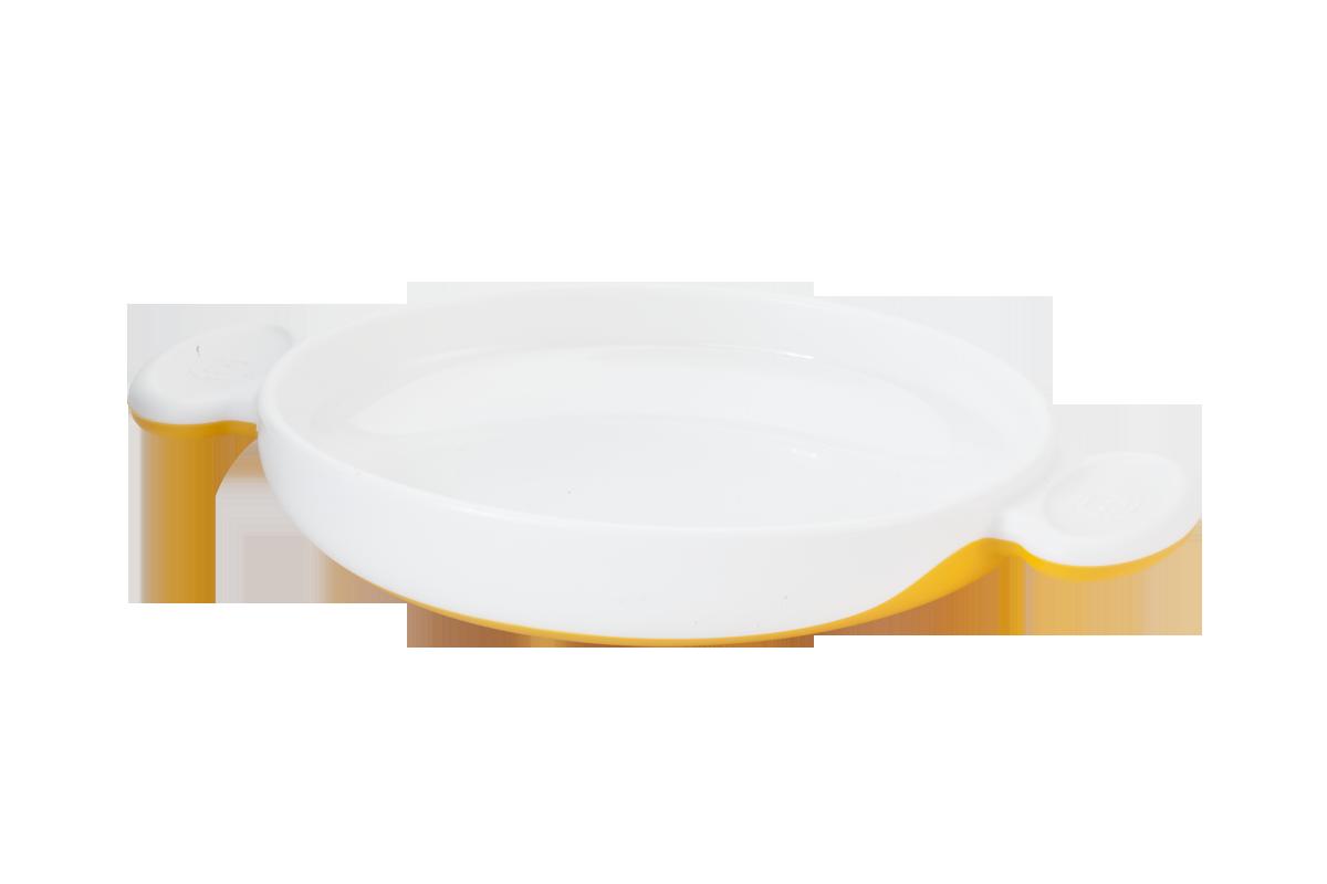 KK-09 จาน Ergo Kido Plate (ส้ม)