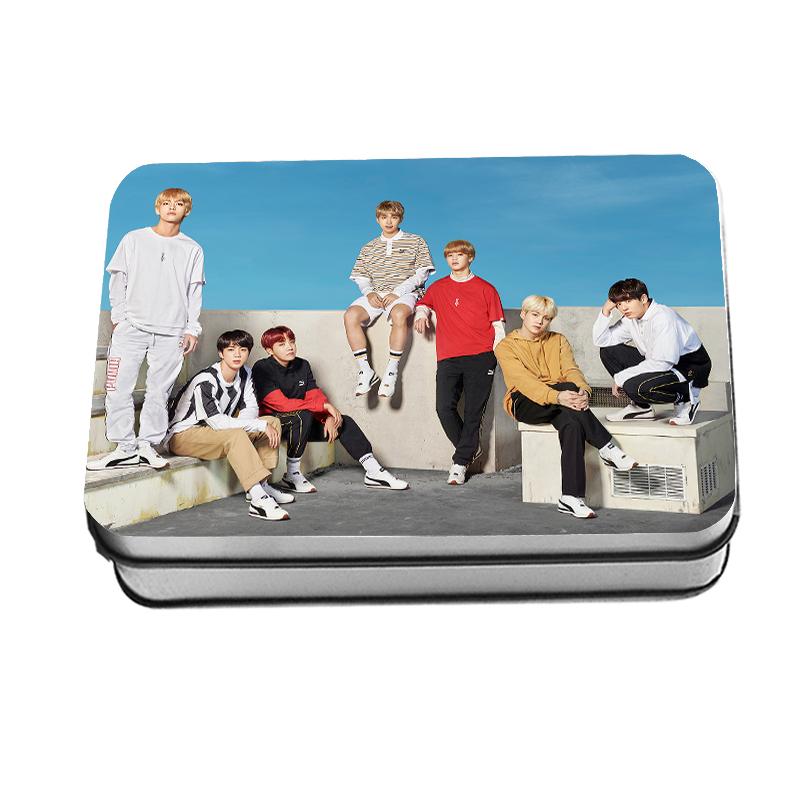 LOMO CARD กล่องเหล็ก BTS 2018 puma 30รูป