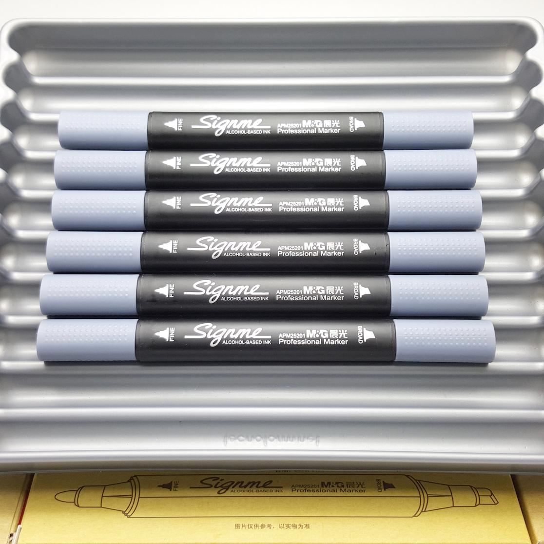 ปากกามาร์คเกอร์ไซน์มิ Signme Professional Marker - #CG5