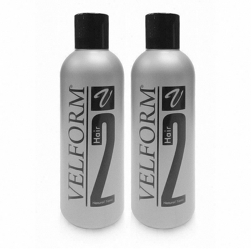 (แพ็คคู่ 2 ขวด ราคา 1990 บาท) Velform Hair สูตร 2 ผลิตภัณฑ์บำรุงเส้นผมและหนังศีรษะ สูตรใหม่เข้มข้นกว่าเดิม ผสานคุณประโยชน์จากพืชพรรณธรรมชาติ 10 ชนิด