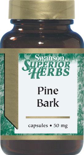 ((แบ่งจำหน่าย)) Swanson Pine Bark Extract 50 mg 30 แคปซูล ช่วยลดและป้องกัน สิว กระ ฝ้า และริ้วรอยบนใบหน้า