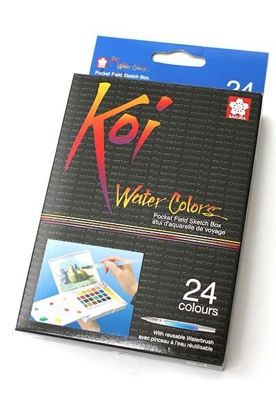 SAKURA Koi Watercolor Field Box Set - 24