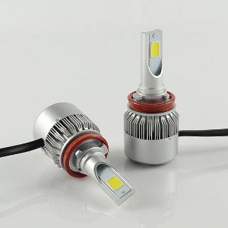 ไฟหน้า LED ขั้ว H11 COB 36W รุ่น C6