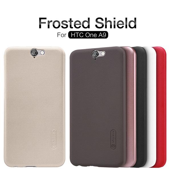 เคส HTC One A9 ของ Nillkin Super Frosted Shield Case +ฟิล์มกันรอย