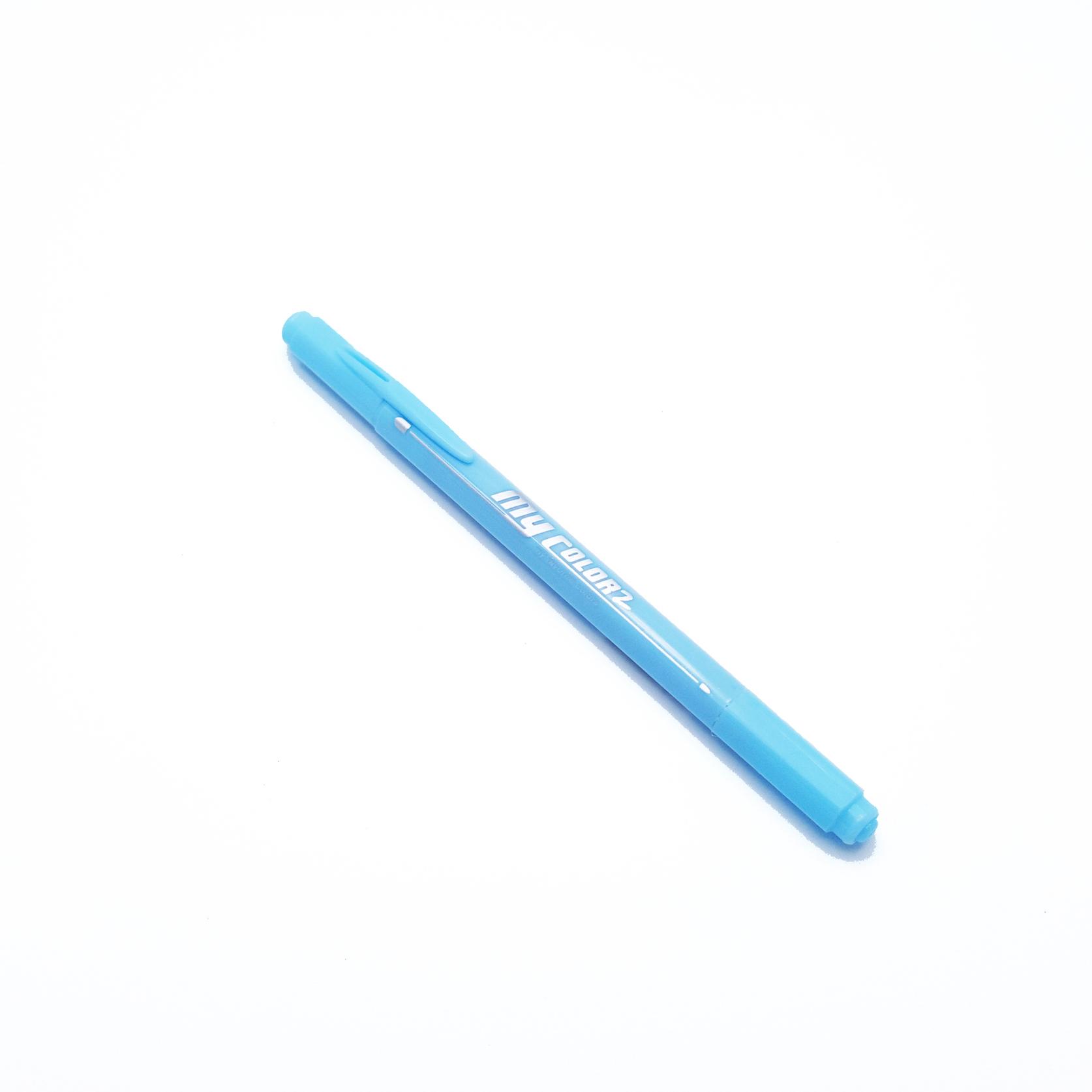 ปากกาสี 2 หัว My Color 2 - No.73 Sky Blue