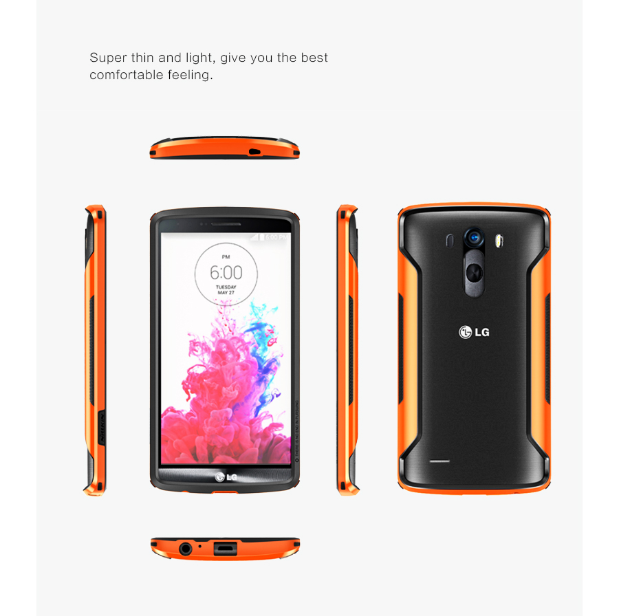 Nillkin Slim-Border series for LG G3 - Orange