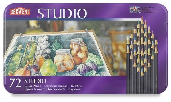 สีไม้ DERWENT Studio - 72 Colours
