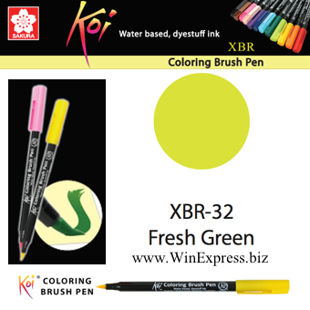 XBR-32 Fresh Green - SAKURA Koi Brush Pen