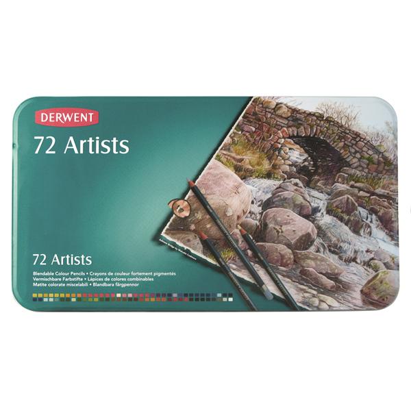สีไม้ DERWENT Artists - 72 Colours