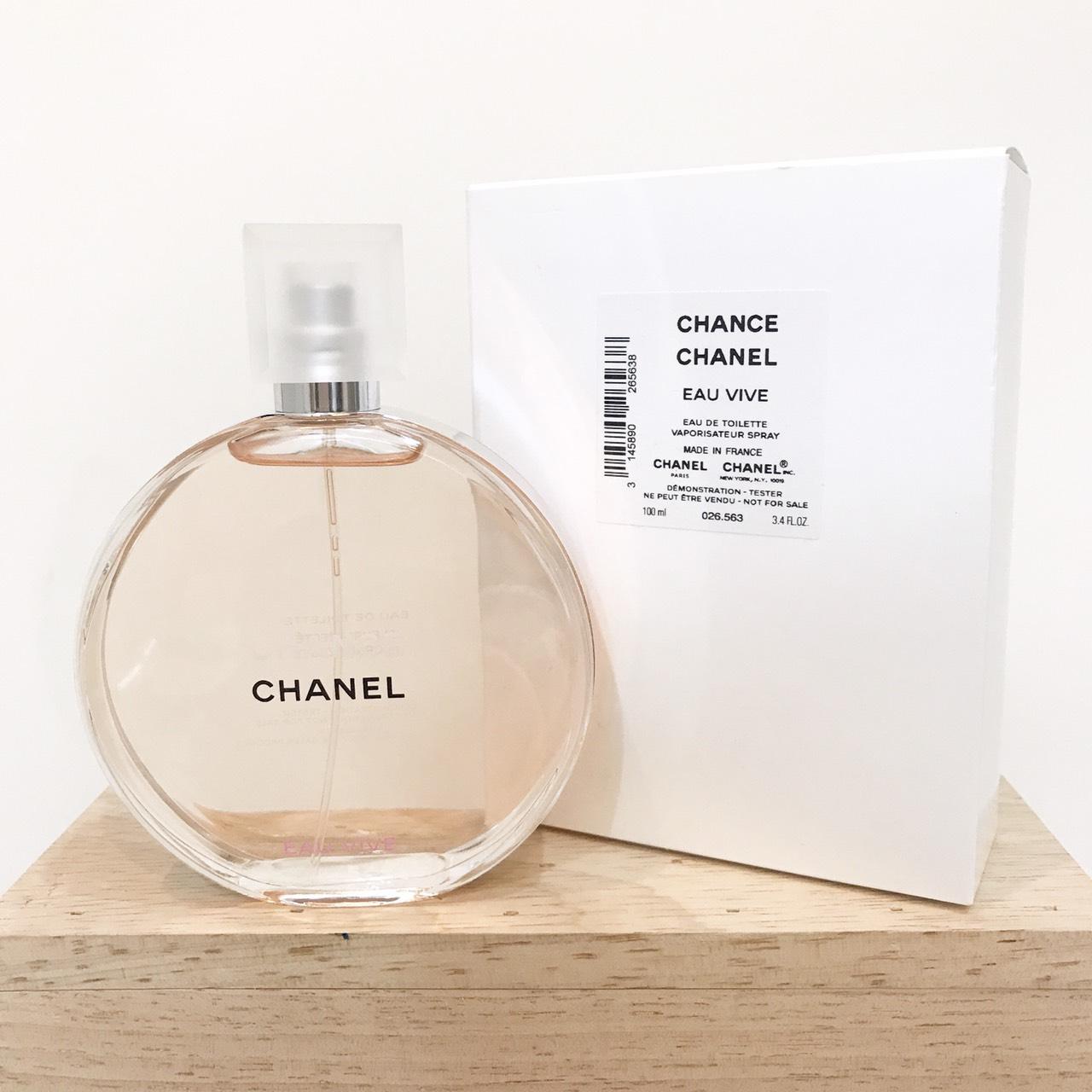 น้ำหอม (กล่องเทสเตอร์) Chanel Chance Eau Vive EDT 100ml.